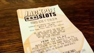 3 JACKPOT SLOTS TICKETS, ONE FAST PLAY WINNER! $517,000+ JACKPOT AND GROWING!