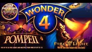 Wonder 4 Slot Machine - The Good, the Bad, and the Ugly! Three bonuses