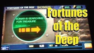 Fortunes Of The Deep Slot Machine Bonus! ~ Bally (Fortunes Of The Deep)