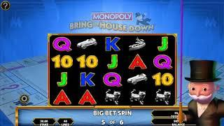 Monopoly Bring the House Down Online Slot by Scientific Games - Free Spins!
