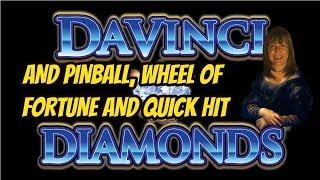 DAVINCI DIAMONDS BONUS &  HIGH LIMIT GAMES