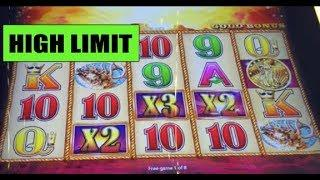 HANDPAY: • HIGH LIMIT • BUFFALO GOLD • handpay ($12 a spin) and other wins!