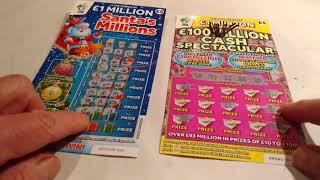 Wow!..What a Classic Scratchcard Game...Packed with Winners (Viewers Vs Us Feb 2018)