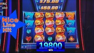WILD FURY JACKPOTS (IGT) Slot Machine LINE HIT ! NICE PLAY