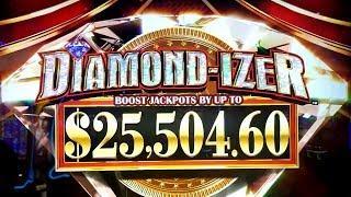 •G2E 2018• NEW KONAMI Diamond Izer Slot Machine PREVIEW w/NG Slot | Global Gaming Expo 2018