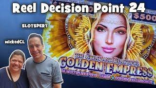The Great and Beautiful Golden Empress - IGT - First Look - REEL DECISION POINT # 24 !
