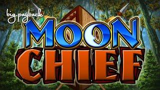 Moon Chief Slot - NICE SESSION, ALL FEATURES!