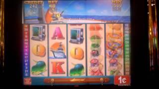 Prize Catch slot machine bonus win
