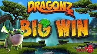 BIG WIN ON DRAGONZ SLOT (MICROGAMING) - 1,20€ BET!