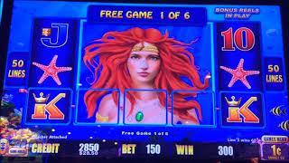 RIVER DRAGONS  & LIGHTNING LINK ~ Big Win ~ First Spin BONUS!!  Live Slot Play @ San Manuel