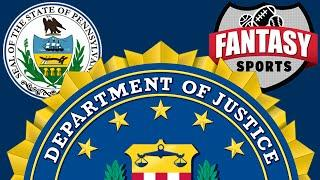 Gambling News from Pennsylvania, Fantasy Sports and the FBI