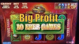 •Big Profit ! •88 Fortunes Slot (Bally+SG) $5.28 bet / $135 Free Play Live Play @ San Manuel•彡栗