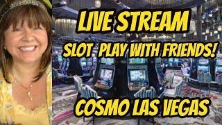 Live at Cosmopolitan casino with Claudia and Desiree