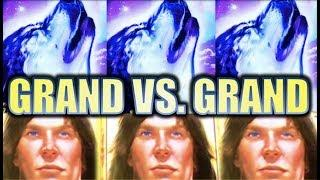 •GRAND VS. GRAND• BIG WIN! TIMBER WOLF GRAND VS. TARZAN GRAND Slot Machine Bonus (Aristocrat)