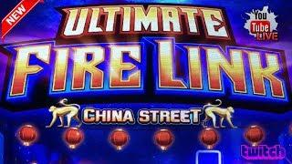 • WE GOT CHINA STREET? • LIVE FROM THE SLOT MUSEUM  • ULTIMATE FIRE LINK • LET'S PLAY!