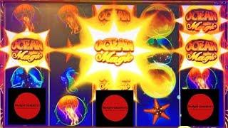 1st Look ~ OCEAN MAGIC GRAND / BRADY BUNCH ~ 2 Huge Bubbles / 1 Screen ~ Live Slot Play @ San Manuel