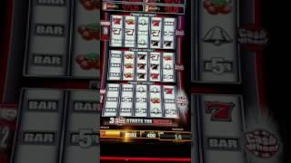 Quick Hits Slot Machine And Cash Wheel MAX BET Quick Lose