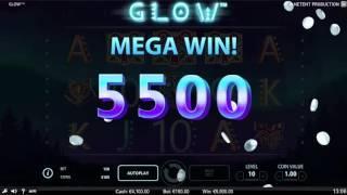 Glow Slot -  NetEnt Promo