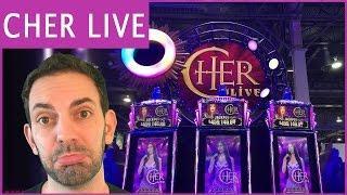 Cher Live at Monte Carlo •Theme Thursdays Live Play • Cher + Buffalo Grand Slot Machine Pokies
