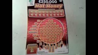 HOT MONEY....Cock-A-Doodle Dough....Super 7's Scratchcards ..with Moaning Pig