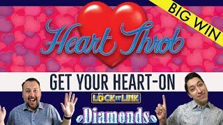 •LIGHTNING LINK Heart Throb • 100X OUR BET ON A SINGLE HEART!
