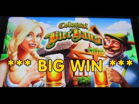 WMS - Colossal Bier Haus *** BIG WIN ***