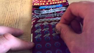 NEW! $15,000,000 WORLD CLASS MILLIONS $30 SCRATCH OFF WINNER FROM ILLINOIS LOTTERY~!