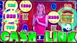 PLAYING NEW SLOTS! Wheel of Fortune CASH link KONAMI slots and more BONUS WINS!