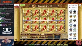 Casino Slots Live - 19/10/17 *Book of Dead, Jurassic Park, Star Quest & More!*