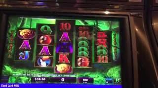 PROWLING PANTHER ~ Slot machine live play and bonus