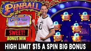 • $15 Per Spin = HIGH LIMIT SLOTS • BIG BONUS on Hold On to Your Hat