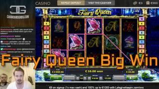 Big win in Fairy Queen slot  - €5 bet