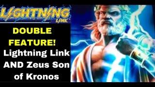 Mega Week Double Feature Madness! Lightning Link and ZEUS WINNERS!