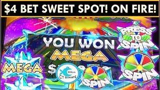 PROGRESSIVES GALORE!!!•Konami Star Watch Magma Slot Machine• BIG WINS!