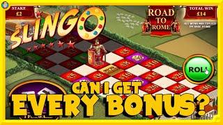 SLINGO! Centurion with WILD POWER SPINS & ROAD to ROME!