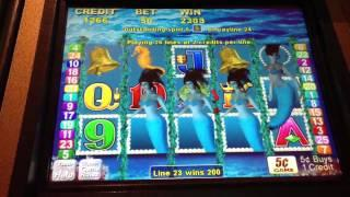 Mermaid magic slot machine BIG WIN