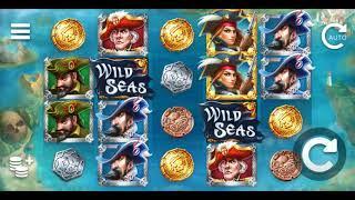 Wild Seas Online Slot from Elk Studios - Break the Convoy, Loot the Treasures - big wins!