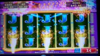 Flying Fortune Slot Machine Bonus with FULL SCREEN Line Hit - 15 Free Spins - Big Win (#2)