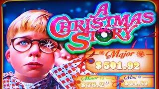 ++NEW A Christmas Story slot machine, #G2E2015, Aristocrat