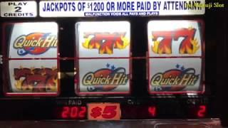 High Limit Slots•Quick Hit - Double Money, Double Gold, Independence Pay @ Pechanga Resort & Casino