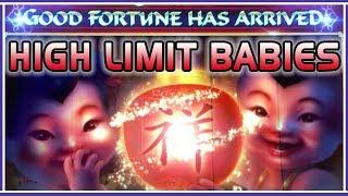 • High Limit BABIES • on Fu Dao Le + MORE! • • Slot Fruit Machine Pokies w Brian Christopher