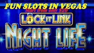 •FUN SLOTS IN VEGAS•Started from only $20 ! •Lock it Link /World of Wonka/WD 2 $1.50~$3.00 Bet