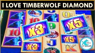 TIMBERWOLF DIAMOND MULTIPLIERS PAY ME AND MRS. CT SHARES TOO MUCH INFORMATION PLAYING BUFFALO ⋆ Slots ⋆