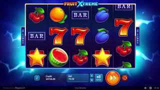 Fruit Xtreme Slot by Playson