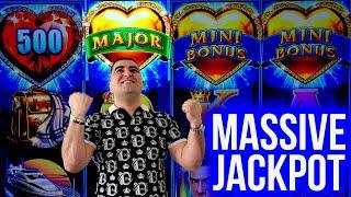 High Limit Lock It Link Slot MASSIVE HANDPAY JACKPOT ! Making Money On Slots