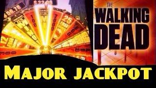 MAJOR #6 The WALKING DEAD slot machine MAJOR JACKPOT LEVEL Bonus WIN