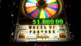 Wheel of Fortune Lucky Spin game at Sands Casino