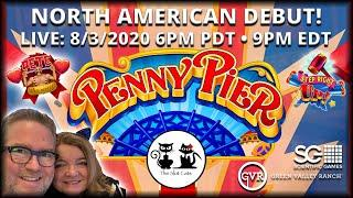 ⋆ Slots ⋆ SPECIAL NEW LIVE SLOT DEBUT PENNY PIER BY SG! 08/03/2020