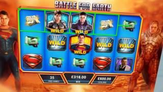 Man of Steel Online Slot from Playtech
