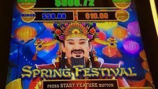 NEW Dragon Link Slot Machine - Spring Festival - Free Spins Bonus